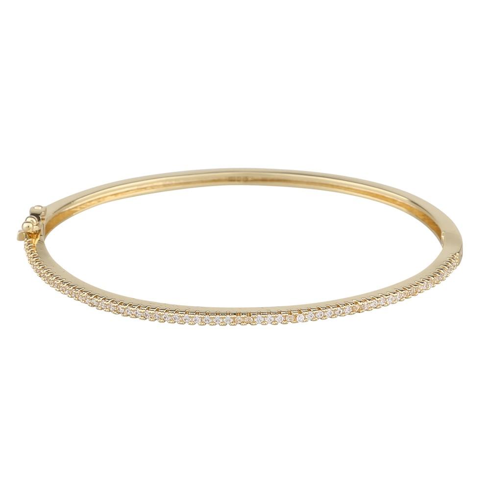Satin Oval Bracelet