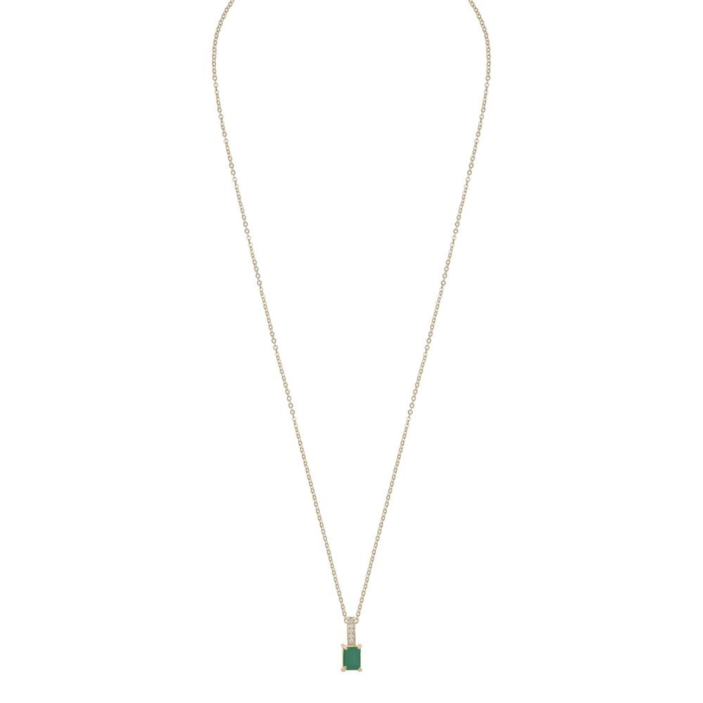 Satin Short Pendant Necklace