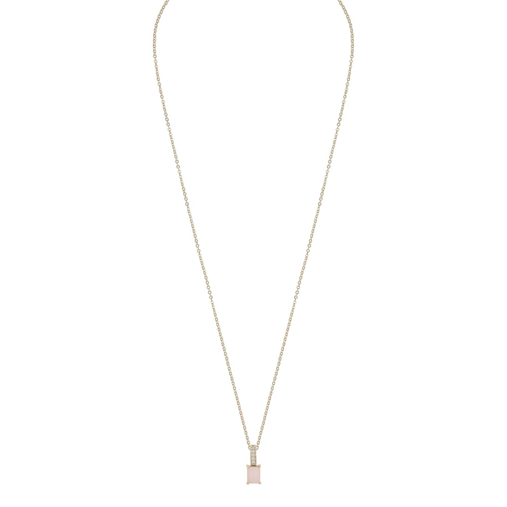 Satin Short Pendant Necklace
