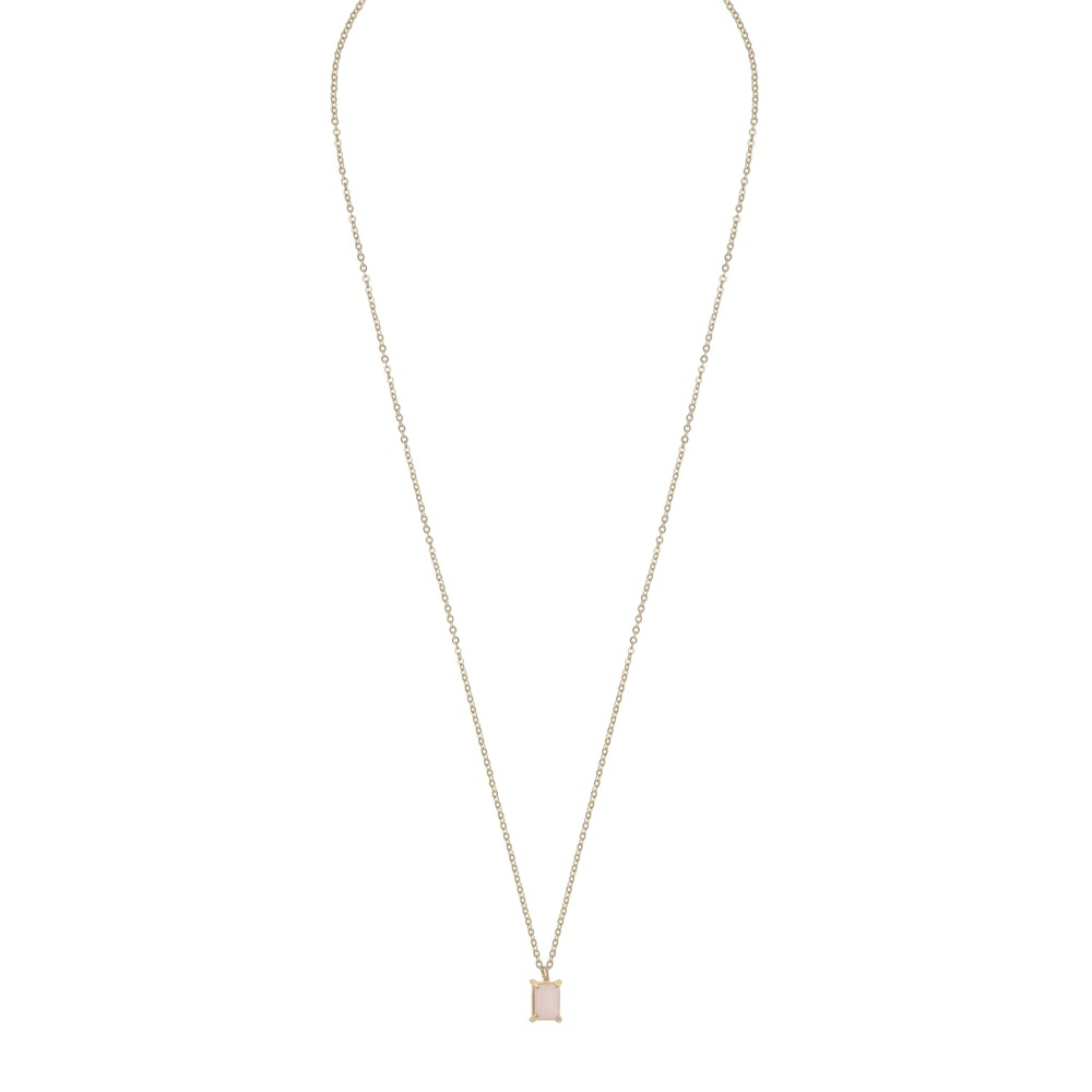 Satin Small Pendant Necklace