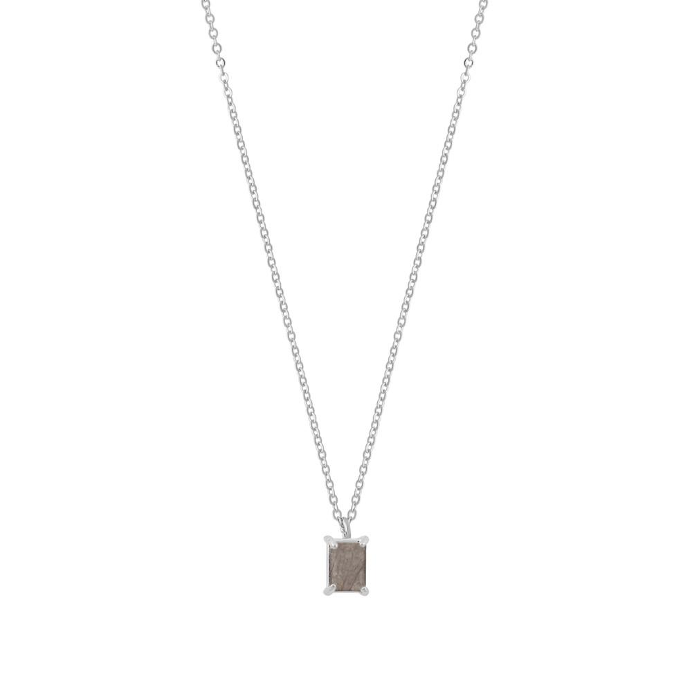 Satin Small Pendant Necklace