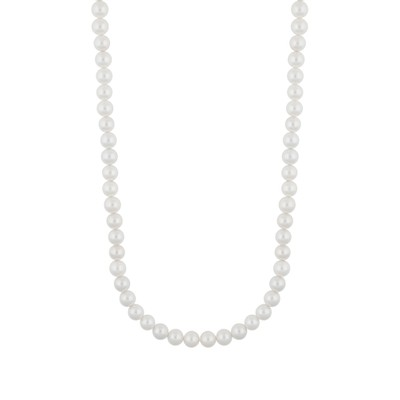 Silk Pearl Necklace