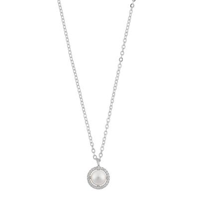 Silk Pendant Necklace