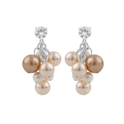 Silk Tassel Earring