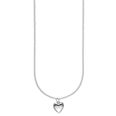 Small Card Pendant Necklace