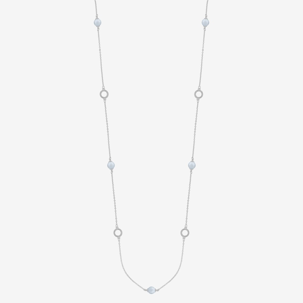 Daria Pearl Chain Necklace