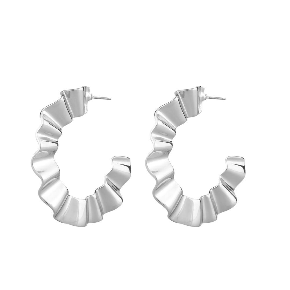 Alba Big Wave Earring