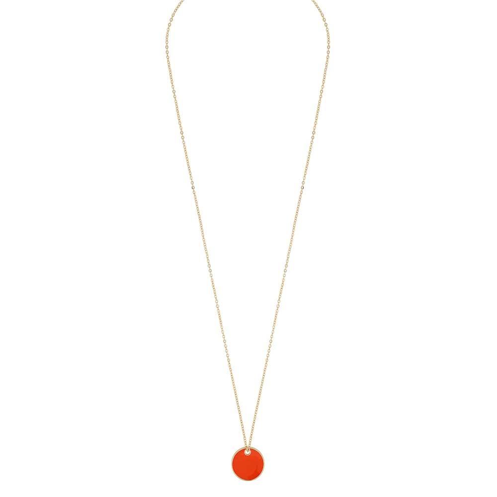 Alley Coin Pendant Necklace