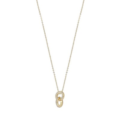 Francis Small Ring Pendant Necklace