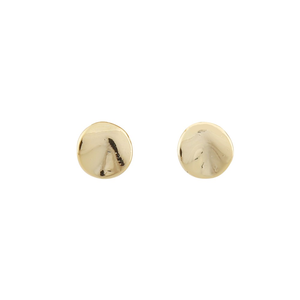 Jain Small Coin Earring