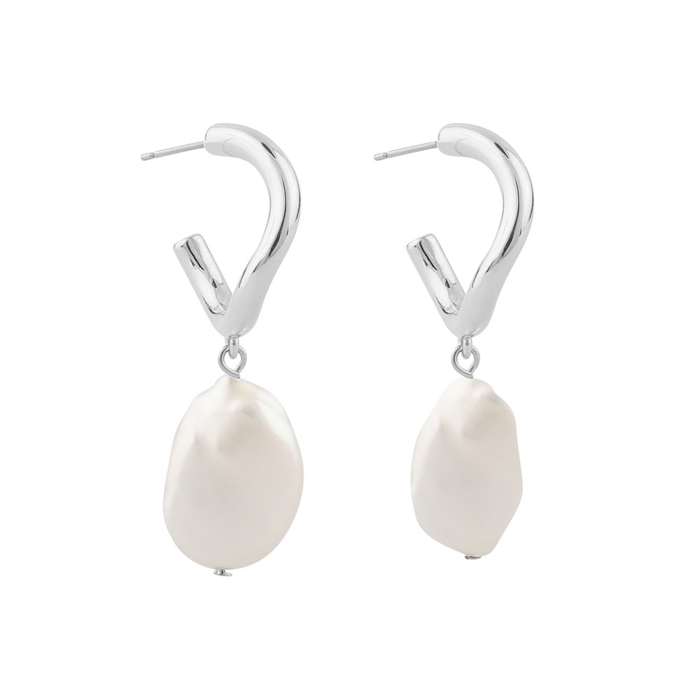 Maxime Oval Earring