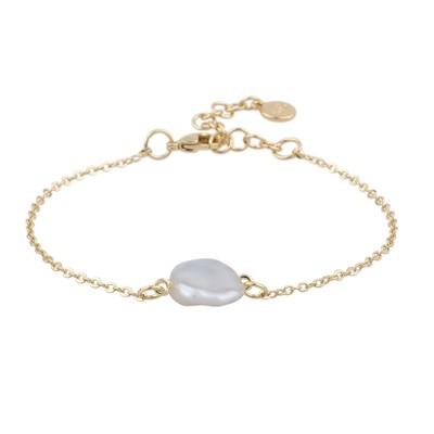 Maxime Pearl Chain Bracelet