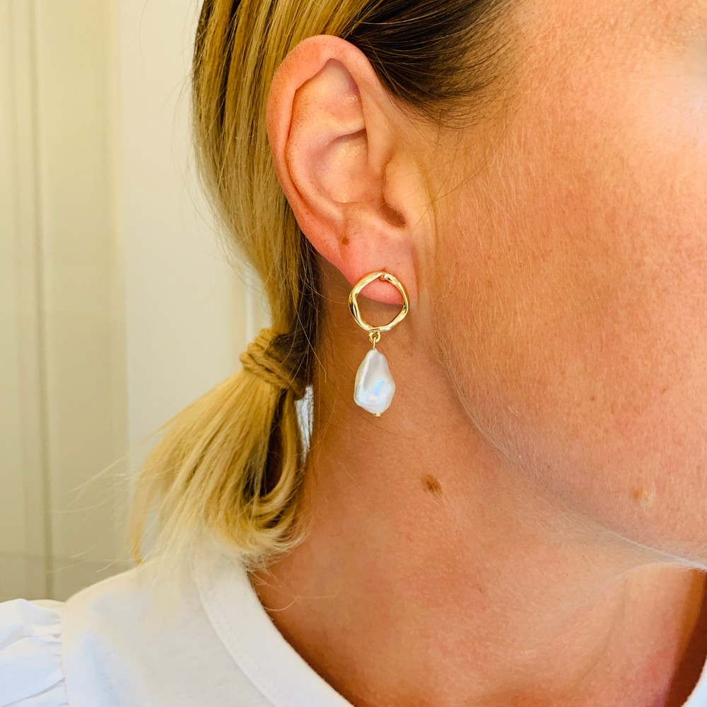 Maxime Short Earring
