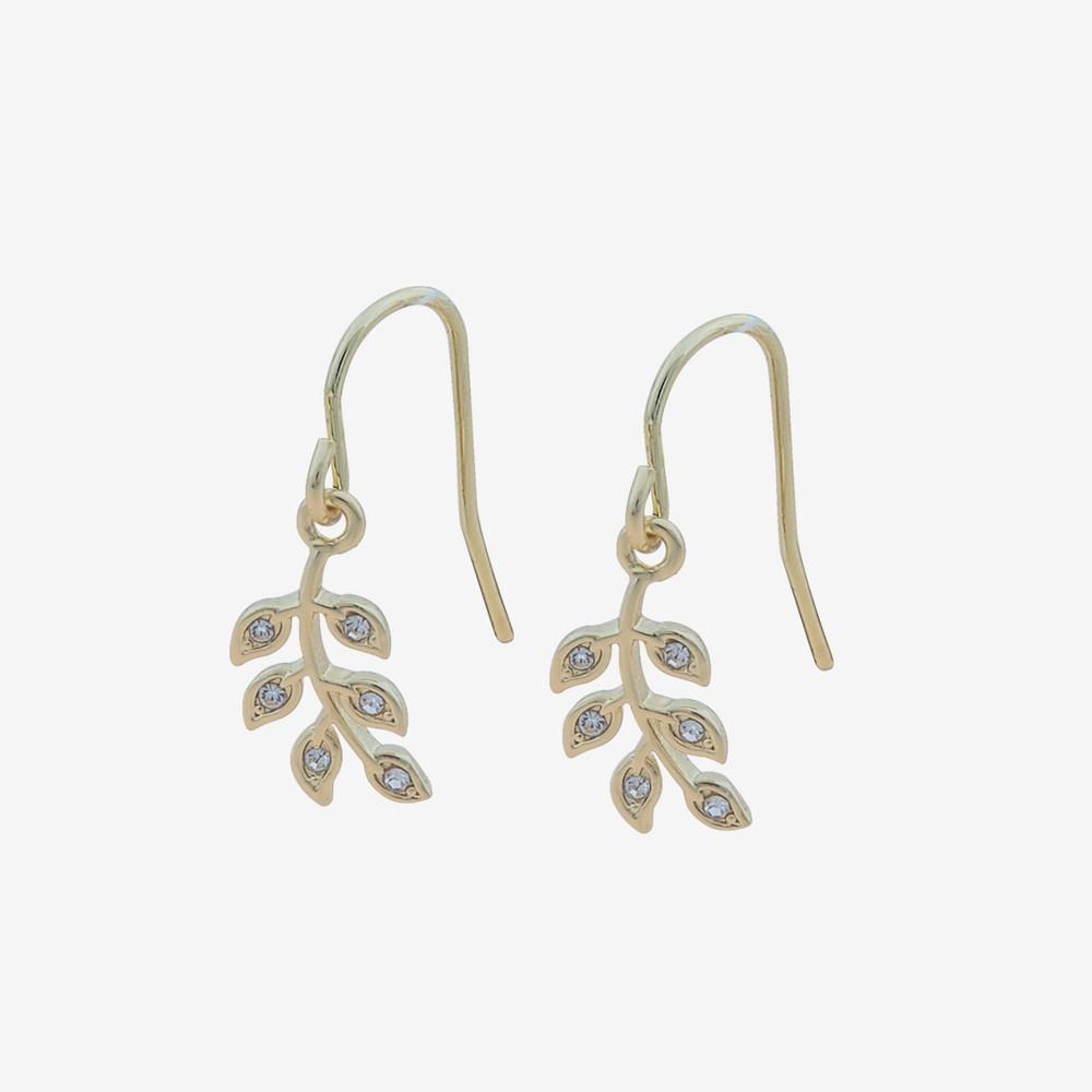 Leaf Pendant Earring