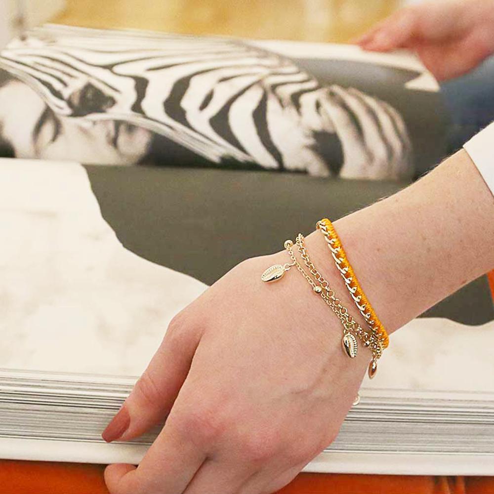 Shelly Charm Bracelet