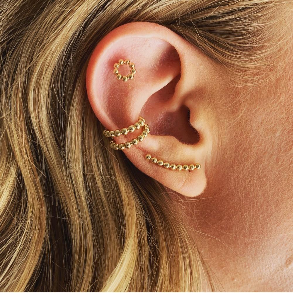 Minna Funky Ball Earring