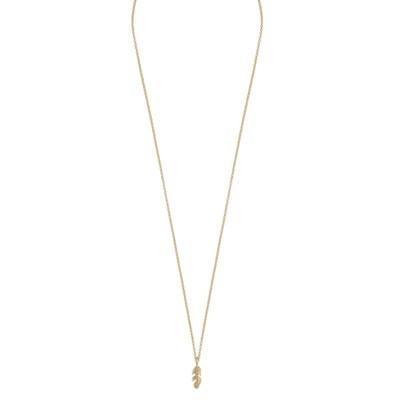 Minna Pendant Necklace Feather