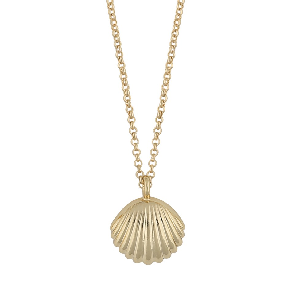 Minna Pendant Necklace Shell