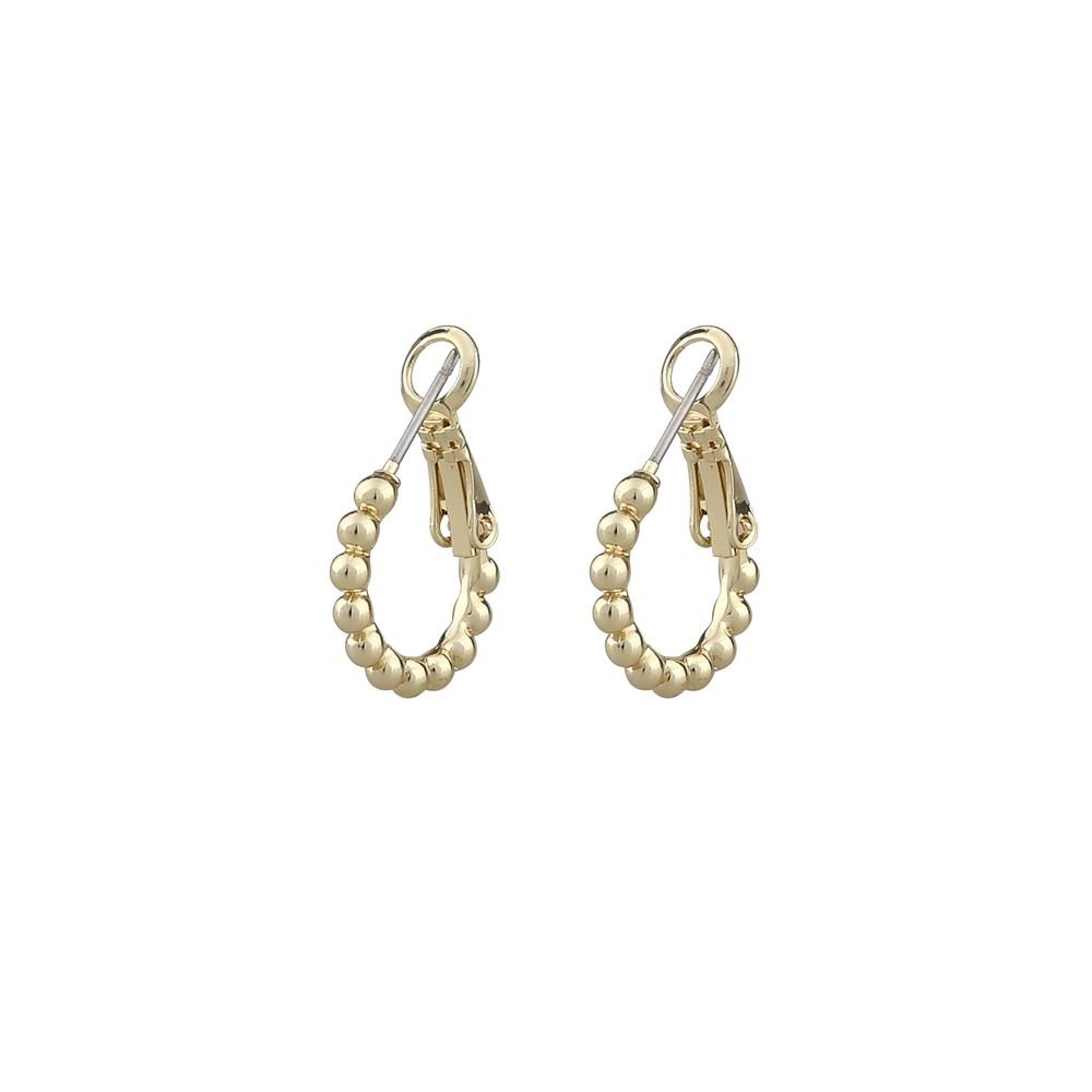 Minna Small Ring Ball Earring