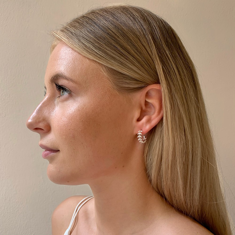 Minna Small Ring Branch Earring
