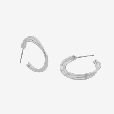 Linked Big Oval Earring