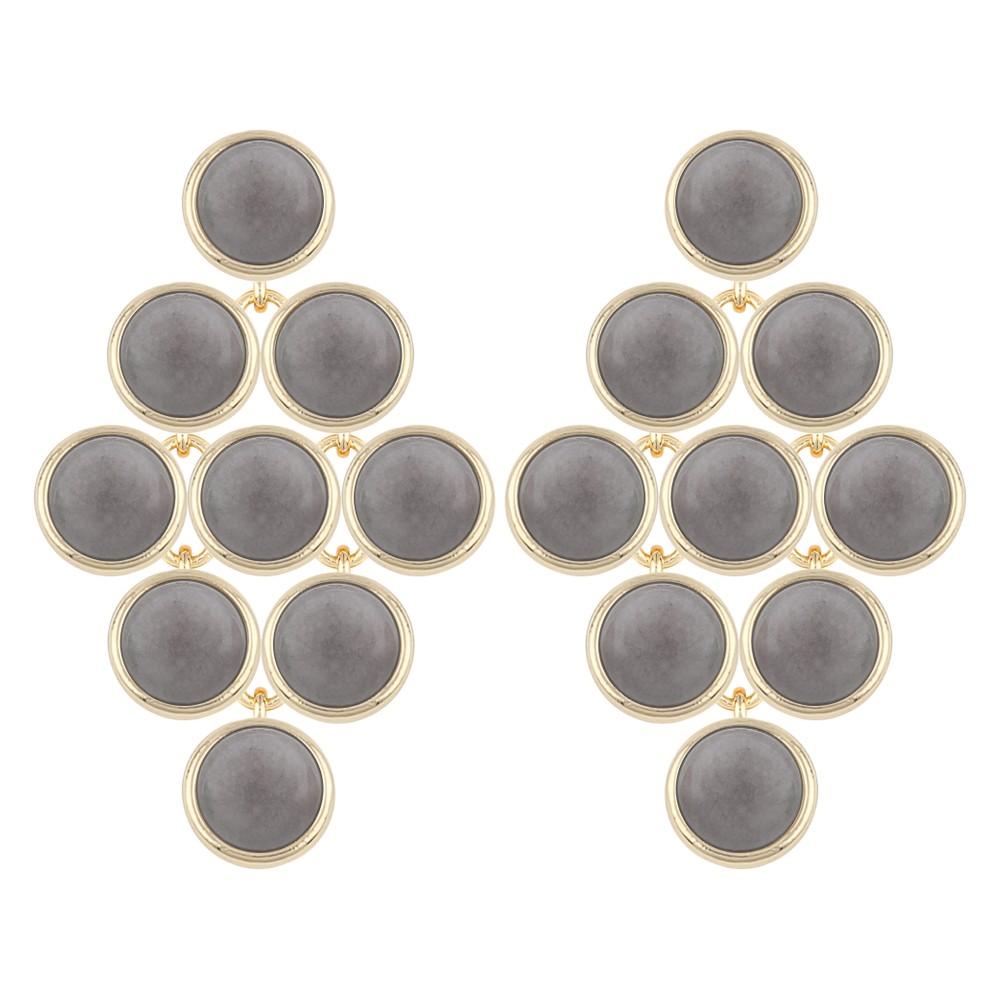 Agatha Small Stone Pendant Earring