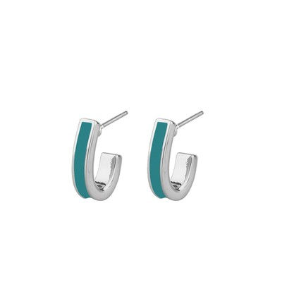 Alley Small Oval Earring