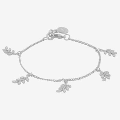 Leaf Charm Bracelet