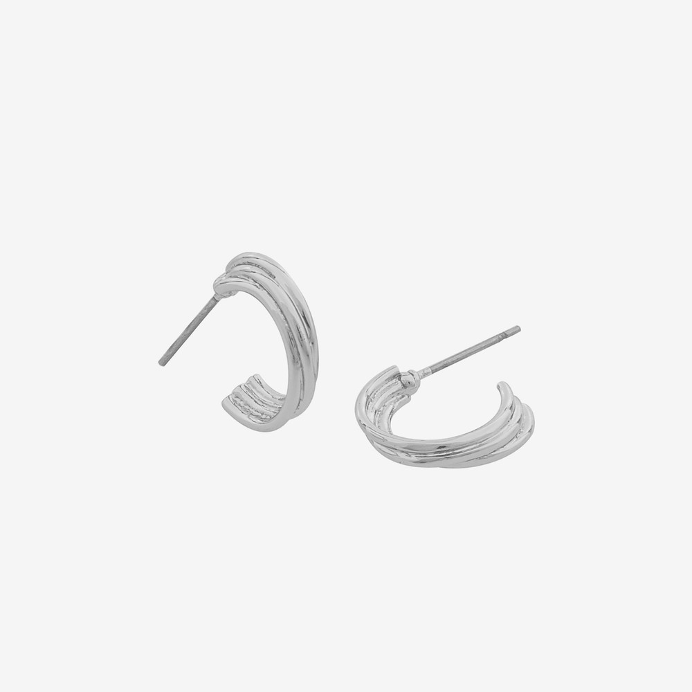 Linked Oval Earring