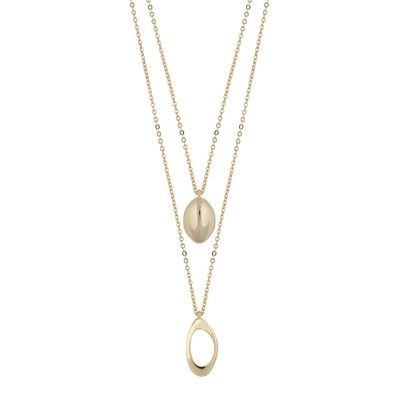 Dion Double Pendant Necklace