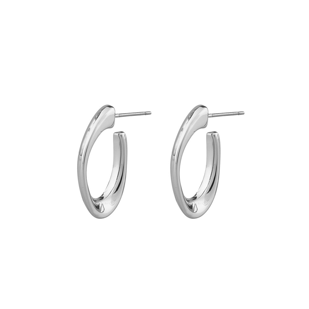 Dion Oval Earring