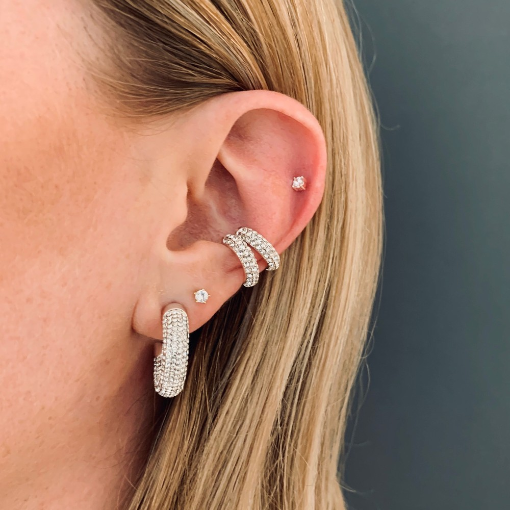 Later Big Oval Earring