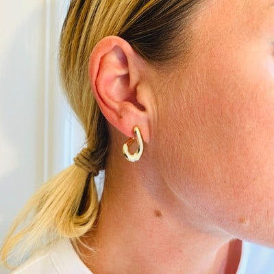 Later Small Loop Earring
