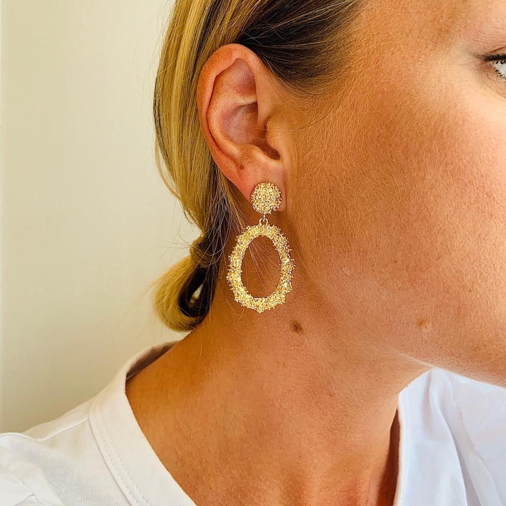 Light Pendant Earring