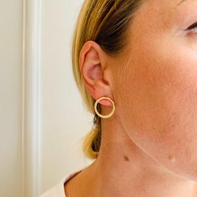 Light Ring Earring
