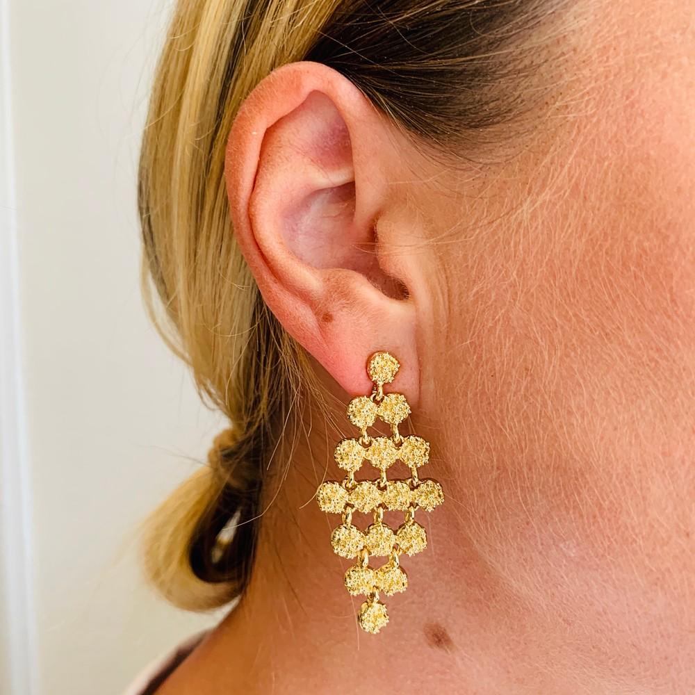 Light Small Pendant Earring