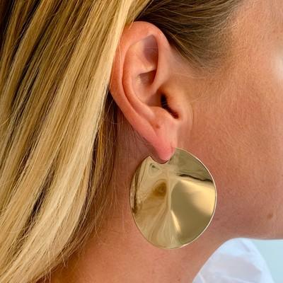 Phoebe Big Round Earring