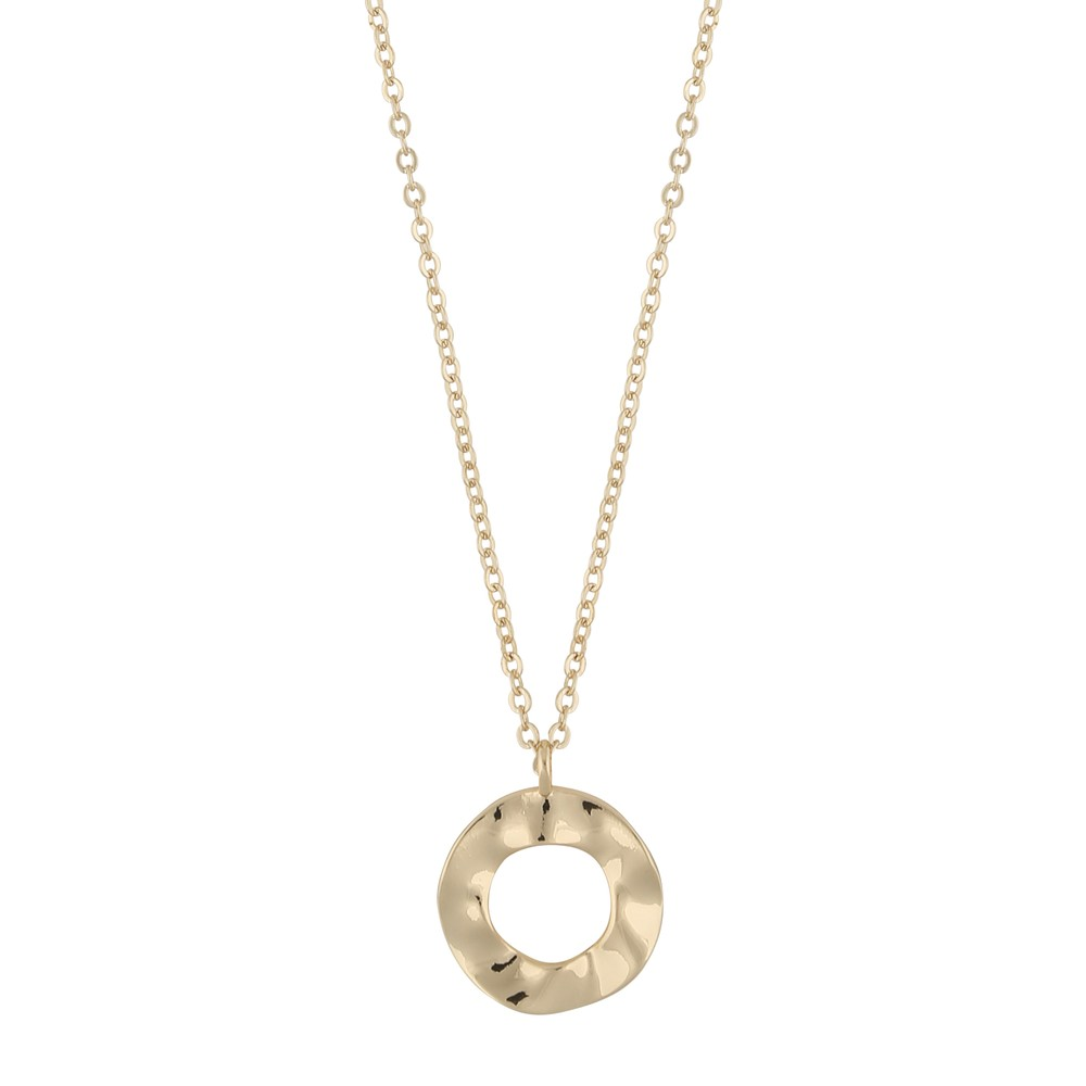 Phoebe Ring Pendant Necklace