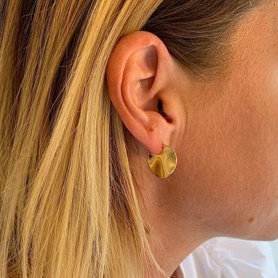 Phoebe Round Earring