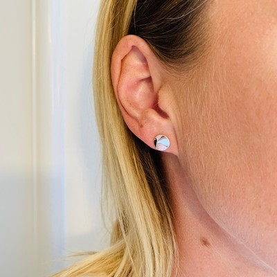 Phoebe Small Coin Earring