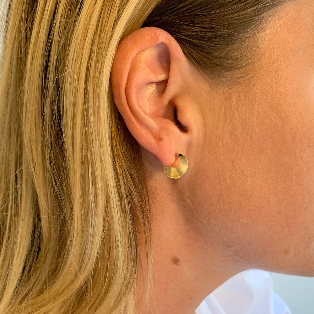 Phoebe Small Round Earring