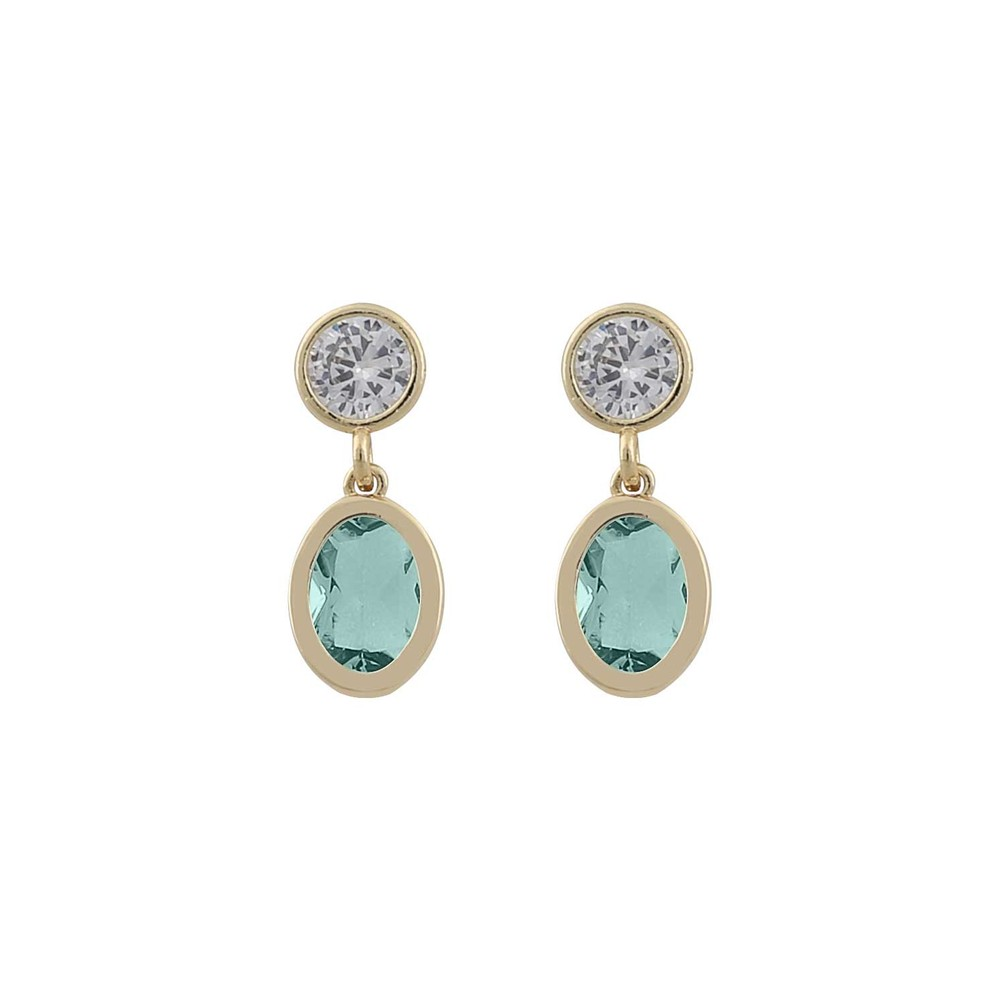 Troy Oval Earring
