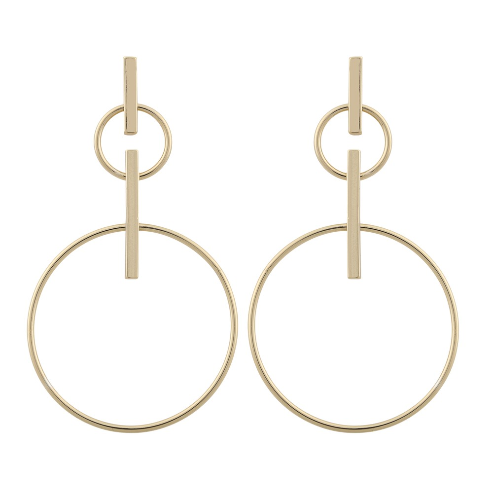 Carlo Big Pendant Earring