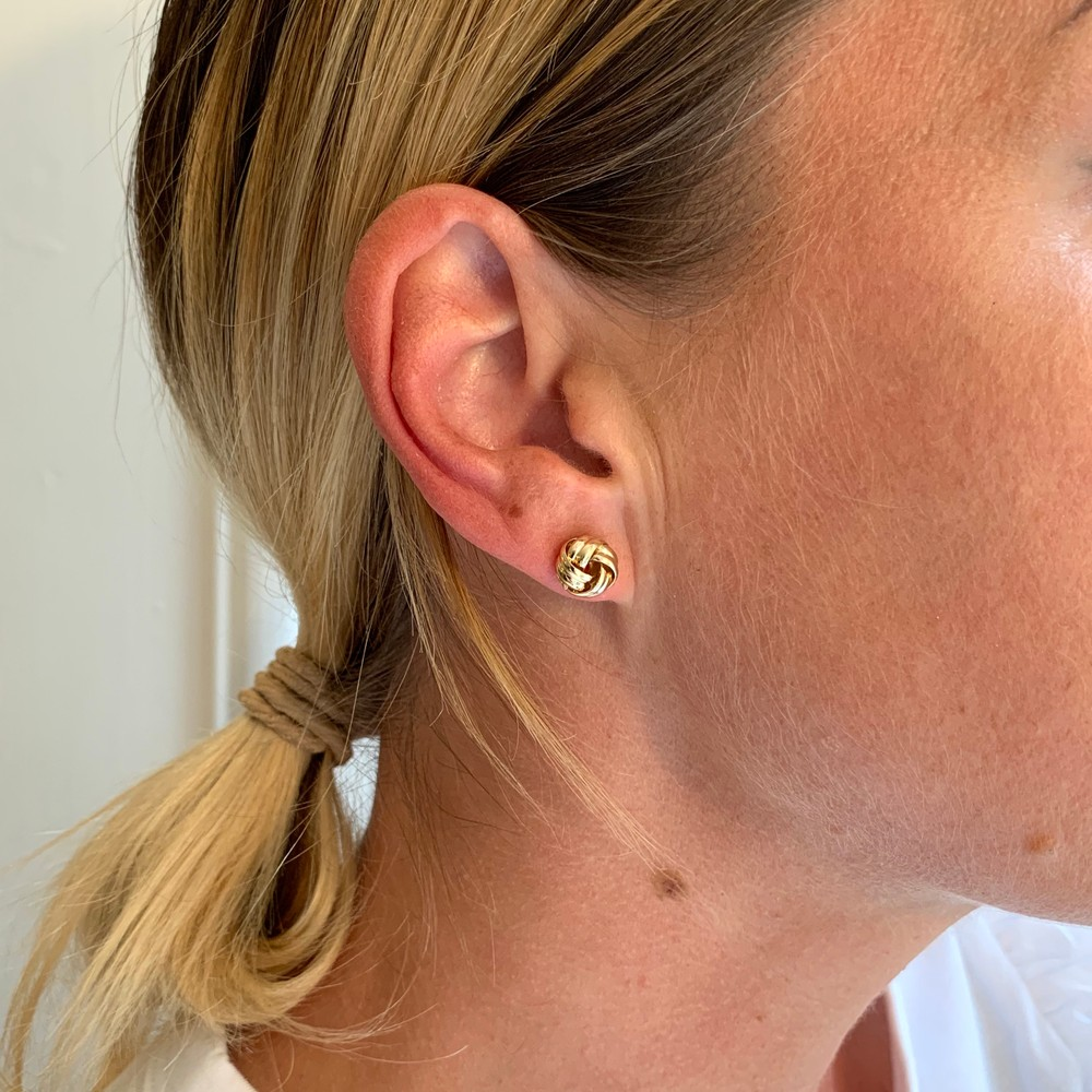 Claire Knot Small Earring