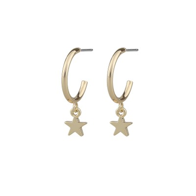 Claire Star Pendant Earring