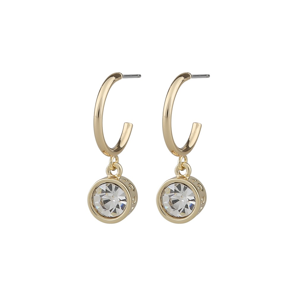 Claire Stone Pendant Earring