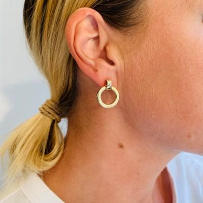 Lennox Small Pendant Earring