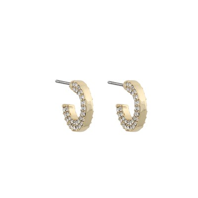 Mari Small Oval Earring