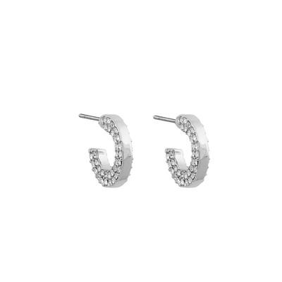 Mari Small Oval Earring