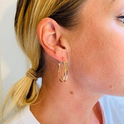 Saint Tropez Round Earring